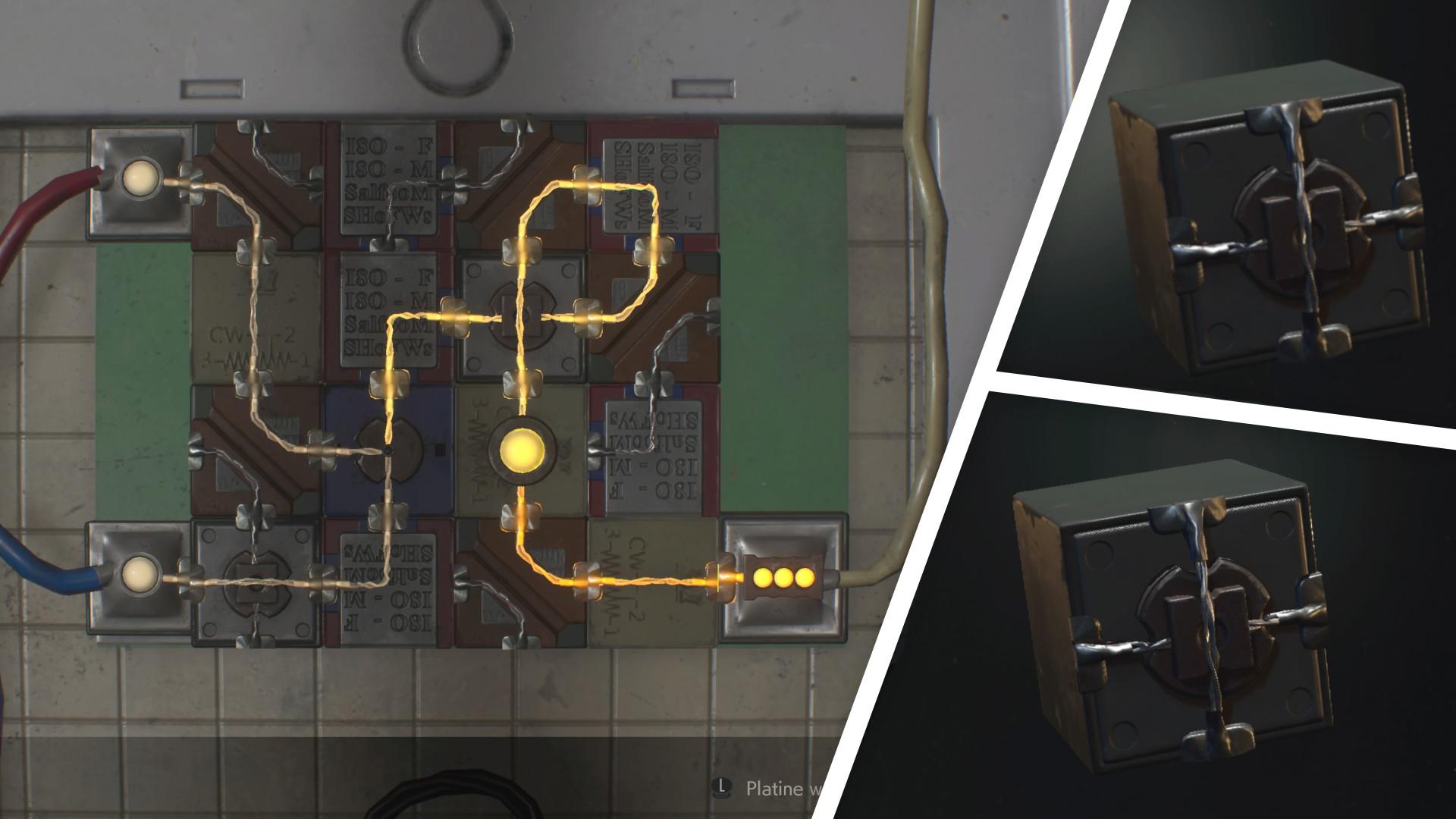 Resident Evil 2 Schaltschrankteile Finden Lösung Für Leon Und