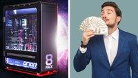 Gaming am (Konto-)Limit: Dieser PC kostet so viel wie ein nagelneuer Tesla