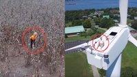 21 beängstigende Bilder, die wir ohne Drohnen nie gesehen hätten