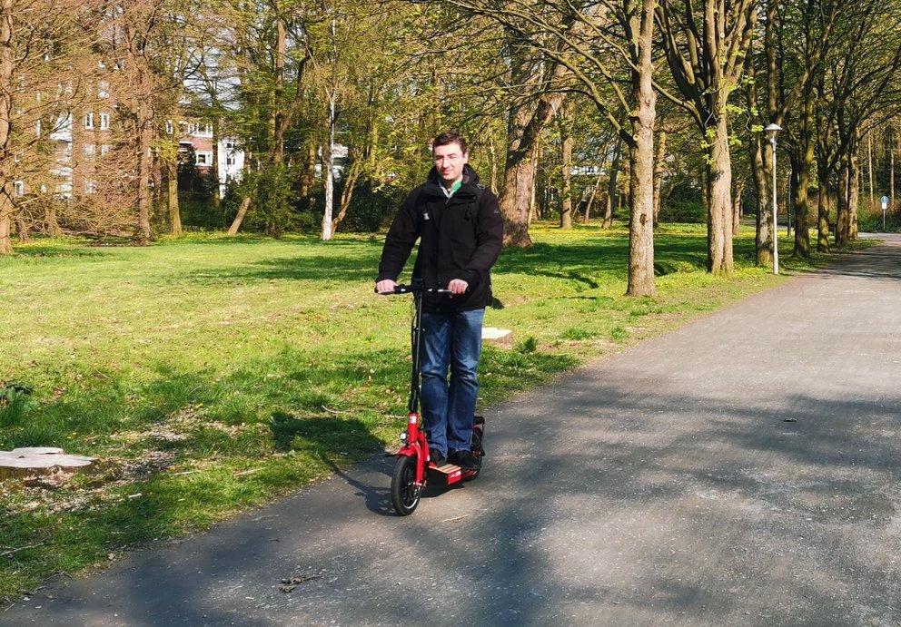 Gunstige E Scooter Versicherung Huk Coburg Legt Mit Gutem Preis Vor