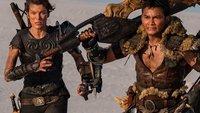 Monster Hunter-Film: Neue Poster zeigen große Waffen und gähnende Leere