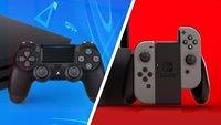 Konsolen im Angebot: PS4 Slim & Switch Controller reduziert