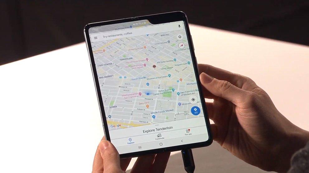 Galaxy Fold im Video: Samsungs Falt-Smartphone zeigt eine große Schwäche