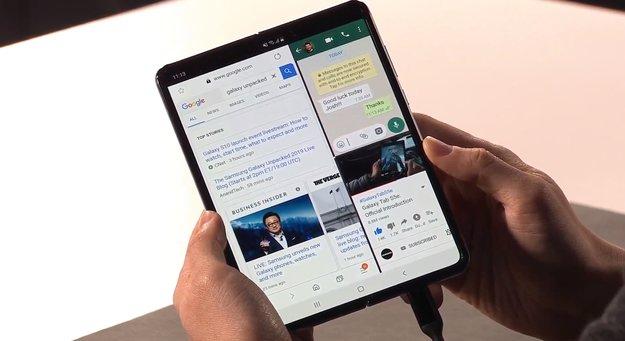 Samsung Galaxy Fold kommt: Faltbares Smartphone ist nicht Geschichte