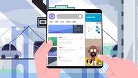Samsung Galaxy Fold: Neues Video zeigt die Vorteile des faltbaren Smartphones