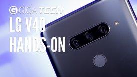 LG V40 ThinQ Hands-On: 5 Kameras für ...