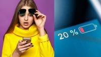 Akkulaufzeit des iPhones verlängern: Diese Maßnahmen helfen sofort