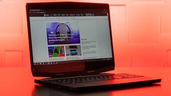 Alienware m15 Gaming-Laptop im Test: Wenn Geld keine Rolle spielt