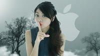 Apple im Zeichen des jüngsten Sicherheitsskandals: Lieber mal die Gusche halten