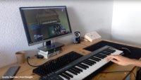 Spieler hackt Online-Shooter, um mit einem echten Klavier zu zocken