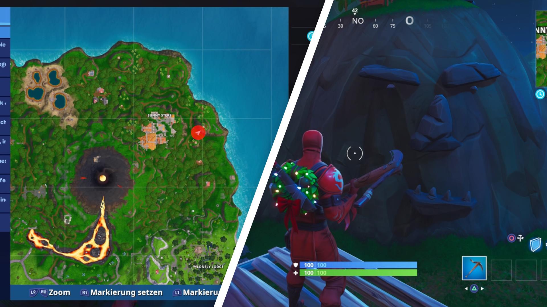 Fortnite Season 8 Woche 1 Map Fortnite Aimbot Working 2019