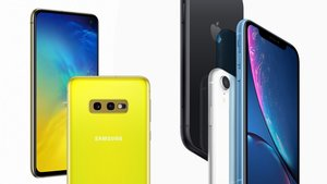 Samsung Galaxy S10e versus iPhone XR: Vergleich und Hands-On-Video
