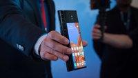 Huawei Mate X im Video: Erster Eindruck vom bisher besten Falt-Smartphone