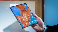 Faltbares Smartphone: Huawei gönnt sich keine Pause