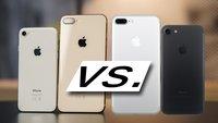 Unterschied: iPhone 7 oder 8 – was lohnt mehr?