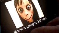 Gruselige Momo-Puppe wurde zerstört