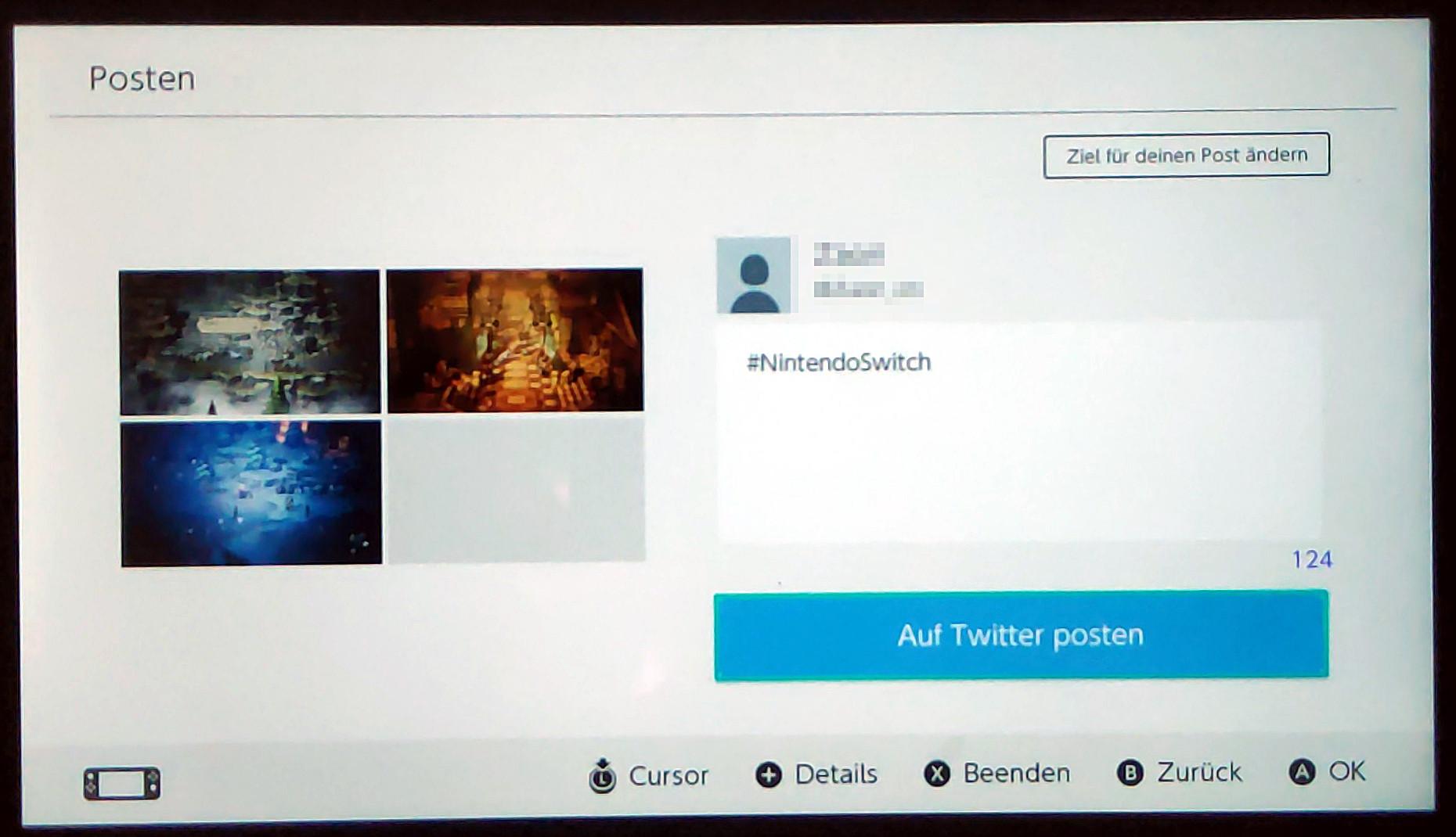 """7c3dccecf5 Bestätigt mit """"Posten"""". Wählt Facebook oder Twitter aus und verbindet euren  Account, sofern noch nicht geschehen. Beim Posten seht ihr nochmal die ..."""