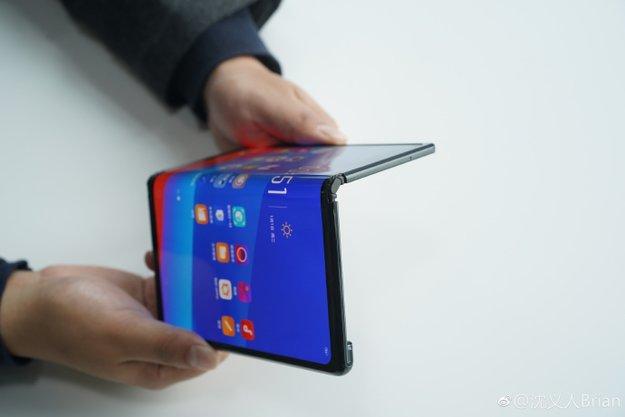 Bei Huawei abgeschaut: Oppo stellt eigenes Falt-Handy vor