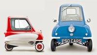 Das kleinste E-Auto der Welt: Wer passt in diesen fahrbaren Einkaufswagen?