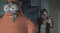 Resident Evil 2 mit dem besten Freund von SpongeBob