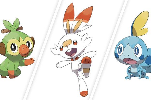 Pokémon Schwert & Schild: Mehr Details zu den Starter-Pokémon und eine Stadtführung