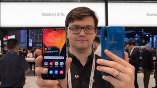 Samsung Galaxy A50 im Hands-On-Video: Günstige Alternative zum Galaxy S10 Plus