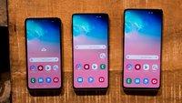 Samsung-Galaxy-10-Display: Größe, Auflösung, Features – Vergleich