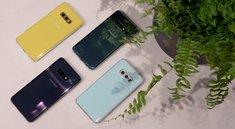 Samsung Galaxy S10: Farben und Materialien