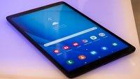 Samsung Galaxy Tab A (2019) im Hands-On-Video: Erste Erfahrungen mit der günstigen iPad-Alternative