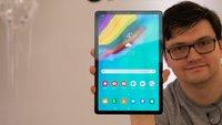 Samsung Galaxy Tab S5e im Hands-On-Video: Erste Erfahrungen mit dem neuen Premium-Tablet