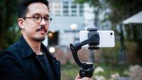 Snoppa Atom: Smartphone-Gimbal zu Videostabilisierung