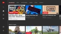 Nintendo Switch: YouTube installieren und öffnen – so geht's