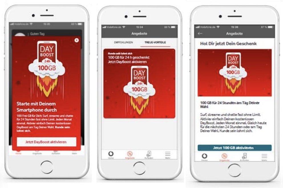 Day Boost Vodafone