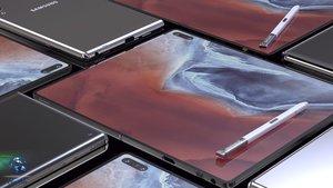Galaxy Fold 2: So schön könnte Samsungs nächstes Falt-Handy aussehen