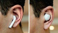 """Abstimmung: """"Zahnbürstenkopf"""" oder  """"Knopf im Ohr"""" – welches Earbuds-Design sieht besser aus?"""