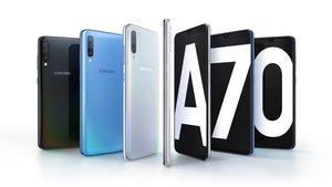 Samsung Galaxy A70 vorgestellt: Gehobenes Mittelklasse-Smartphone mit starkem Akku
