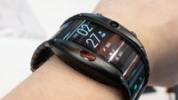 Nubia Alpha Smartwatch im Hands-On-Video: Das Smartphone fürs Handgelenk