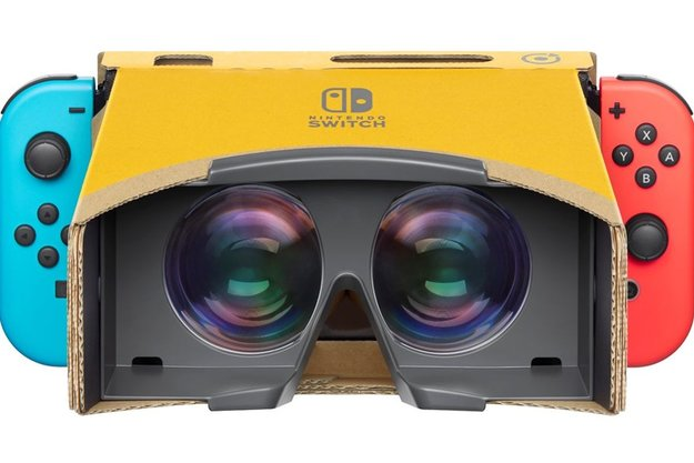 "Nintendo 2018: ""VR überlassen wir anderen"" – Nintendo 2019: ""Okay, wir machens doch"""
