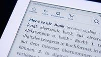 Kindle: PDF-Datei übertragen und lesen - so gehts