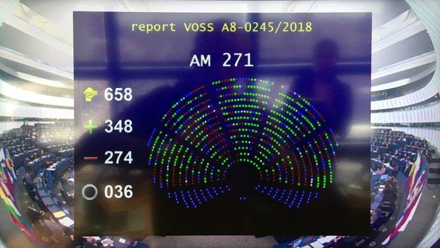 Artikel 13 und Artikel 11 wurden beschlossen  – Europa hat abgestimmt