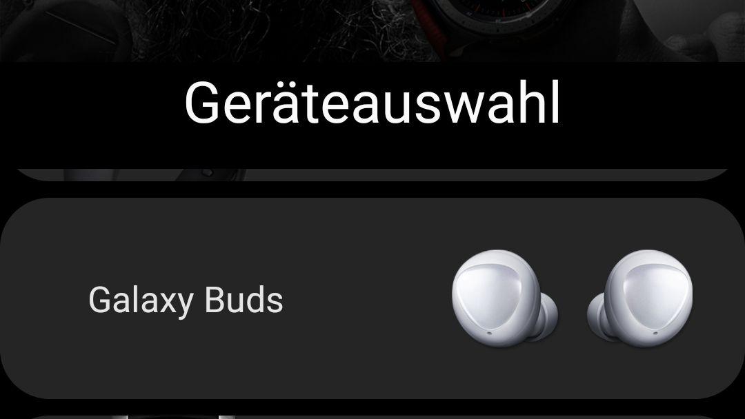 Galaxy Buds Koppeln