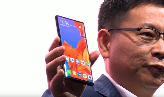"""""""Nicht gut"""": Huawei-Chef kritisiert Samsungs Falt-Handy"""