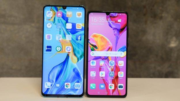 Huawei P30 Pro und P30 im Vergleich: Unterschiede der Top-Smartphones
