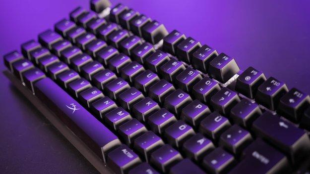 HyperX Alloy FPS RGB Gaming-Tastatur im Test: So empfindlich wie ein Schmetterlingsflügel