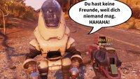 Fallout 76: Dreister Roboter beschimpft die Spieler – und sie lieben es