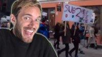 Jetzt gehen PewDiePie-Fans für ihn schon auf die Straße
