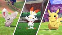 Pokémon Schwert & Schild: Alle bestätigten Pokémon - Liste und 8. Generation