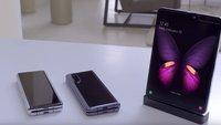 Samsung Galaxy Fold Z: So könnte das nächste faltbare Smartphone aussehen