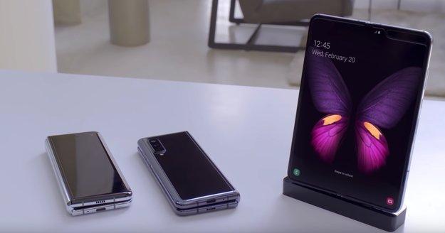 Faltbare Smartphones: So könnte uns Samsung die Angst vor Falt-Handys nehmen