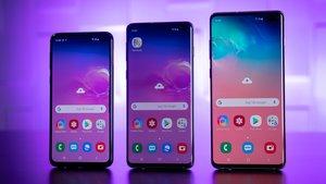 Großes Update angekündigt: Samsung will die Schwächen des Galaxy S10 beseitigen